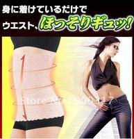 Free Shipping Lace Waist Trimmer Belt Slimming Belt 5pcs/lot