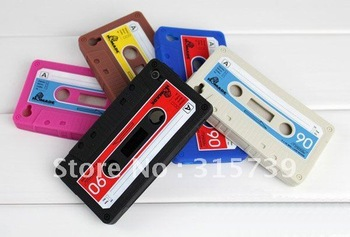 NEW Arrival!for apple iphone 4 case silicone 200pieces/lot 5 colors free shipping via DHL/EMS mobile phone case for iphone 4 4G