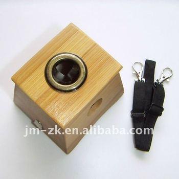 Brand New Bamboo Moxa Box with 1 Hole, Moxa Accessories