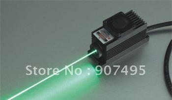 adjustablue 500mW 532nm Green laser for biochemistry/ material inspection lidar,wafer inspection