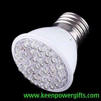 200-240V 50Hz 1.8W E27 38 LED Bulb Light, Free Shipping, Retail