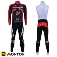 WHOLESALE 2011 Merida Long Sleeve Cycling Jerseys and BIB Pants Set/Cycling Wear/Cycling Clothing/online cycling store