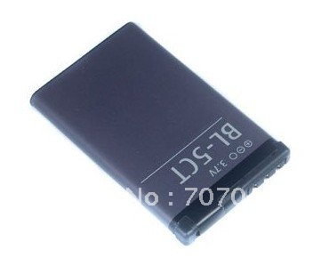 50 pcs/lot, free shipping + new NEW Battery BL-5CT for 5220 XpressMusic, 5630 XpressMusic, 6303 classic(China (Mainland))