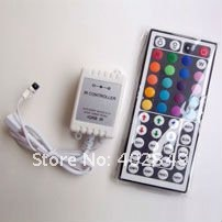 Wholesale 44 key IR LED Controller, RGB Controller, IR Wireless Remote + HKPOST Free Shipping!