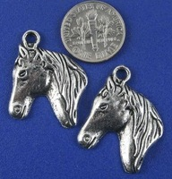free shipping 40 pcs/lot,wholesale fashion lovely horse charms,tibetan charms jewelry charms jewelry accessories