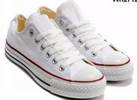free shipping 10pcs classic white man shoes/Lovers shoes (35~44)