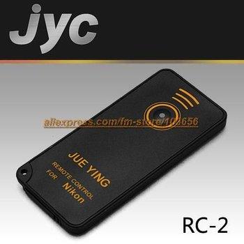 JYC RC-2 IR remote control FOR Nikon D80, D70S, D70, D60, D50, D40, D40X, 8400, 8800, Pronea S