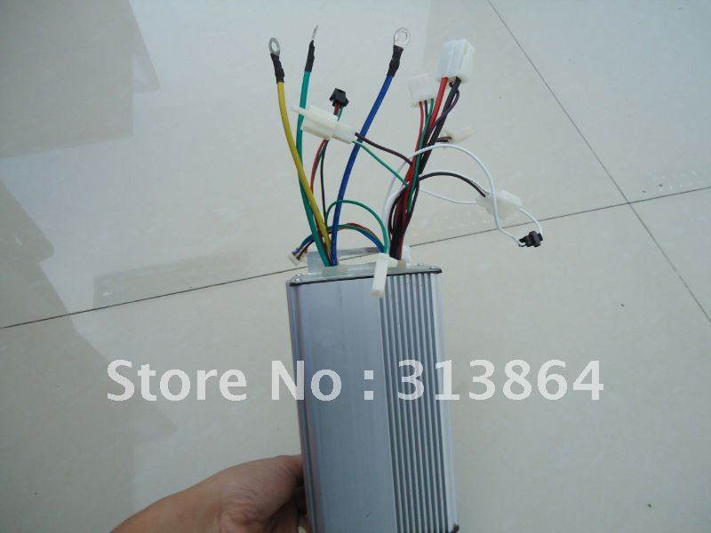 Free Shipping!!! Universal 48V 500W E-bike Brushless Speed Controller(China (Mainland))