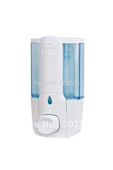 European Style Single Manual Touch Soap dispenser TSD17W Plastic /ABS 450ml Lotion Dispenser Titanium White