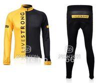 2010 Livestrongs Long Sleeve Cycling Jerseys and Pants/Cycling Wear/Cycling Clothing/Bike Jersey