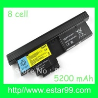 Free shipping&14.8V-8CELL For IBM Lenovo X200 Tablet X200T Battery 43R9257