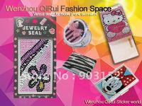 Free shipping,wholesale,hot sale,diamond sticker Bling rhinestone sticker for mobile phone