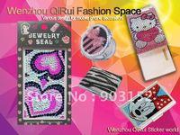 Free shipping,wholesale,hot sale,shiny under sun,rhinestone diamond sticker for mobile phone