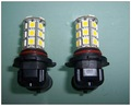 2 X 9006 HB4 27 SMD 5050 12V LED Warm White Light Bulbs + Free shipping