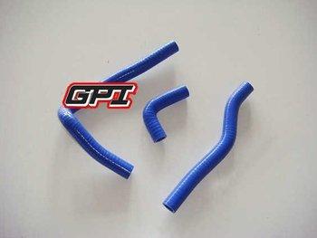 blue FOR KAWASAKI KX65 KX 65 00 01 02 03 04 05 06 07 08 09 10 dirt bike motocross silicone radiator hose PIPE