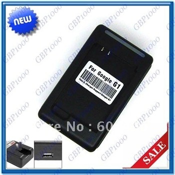 DHL/EMS  shipping 100pcs/lot Original YIBOYUAN USB Desktop Battery AC Charger for HTC Google G1 DREAM