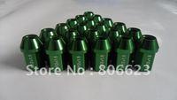 20 LIGHTWEIGHT GREEN 12x1.5 LUG NUTS COBALT SS & HHR
