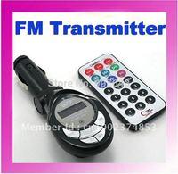 Car MP3 Player FM Transmitter USB/SD/MMC car mp3 player 5PCS/LOT Freeshipping