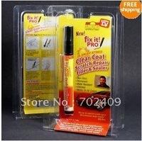 100pcs/lot Simoniz Fix It Pro Clear Coat Scratch Repair Filler & Sealer Pen As seen on TV(blister package)