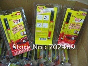 200pcs/lot Simoniz Fix It Pro Clear Coat Scratch Repair Filler & Sealer Pen As seen on TV(blister package)