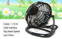 Free Shipping Novelty Gift Items black Mini USB Fan, USB Cooler, Computer Fan, PC USB Fan