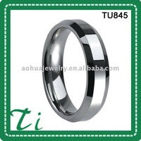 Free shipping free engrave retail tungsten comfort fit men's ring