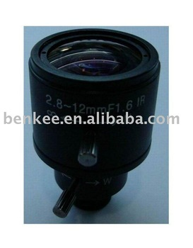 CCTV Lens / Manual Vari-Focal 2.8-12 mm / Camera Lens / Lenses/ board mount/manual Iris lens