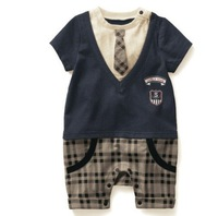 cute baby romper Combed cotton coveralls / climbing clothes+wholesale and retail +free shipping