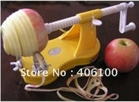 Free Shipping Apple Slicer, Apple Corer, Apple Peeler, color box package
