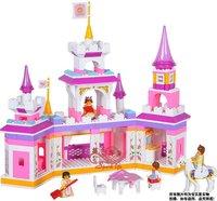 Without original box M38-B0251 Enlighten Building Block Set 3D  Construction Brick Toys Educational Block toy for Children