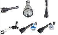 Wholesale/Retail High-power LED Flashlight,Aluminum Material ,Model NF009, 250 lumens cree chip Q5 Bulb,led torch