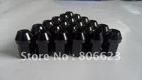 20 LIGHT BLACK 12x1.5 RIMS LUG NUTS LEXUS SC400 SC430