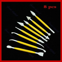 8 pcs Cake Decorating Fondant Sugarcraft Modelling Tool
