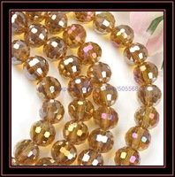 free shipping 312 pcs/lot 6mm round faceted crystal glass beads fashion beads,crystal beads jewelry beads jewelry accessories