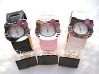 10PCS/Lot  Fashion Hello Kitty Watch Cute Lovely Watches Fashion Cartoon hellokitty Watch for Girls Watch Children Watch