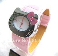 50PCS/Lot Hello Kitty Watch Cute Lovely Watches Fashion Cartoon Watch for Girls Watch Children Watch Wrist watches