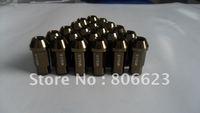 24 LIGHTWEIGHT GUN METAL 12x1.5 LUG NUTS HUMMER H3