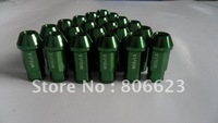 NEW 20 GREEN 12x1.5 RIMS LUG NUTS MAZDASPEED 3 6