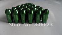 NEW 16 GREEN 12x1.5 LUG NUTS MAZDA 626 RX-7