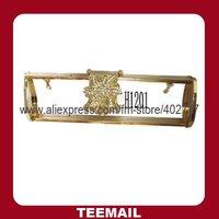 2013 new metal handbag ornament for ladies's handbag with plating in hot sale
