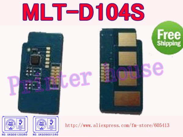 MLT-D104S Laser toner cartridge chip for Samsung ML-1666/ML-1665/ML-1660/1661 MLT-D104 MLT 104S 104S 1042 104(China (Mainland))