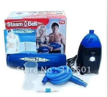 Wholesale- Lots of 1pcs/lot New brand Steam-O-Belt C O Belt Abdominal Exerciser Christmas gift