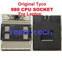 Original rPGA 989 CPU Socket With Solder ball, For Laptop, Wholesale & Retail