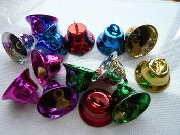 Christmas decoration ornaments adornment DIY metal bell ,