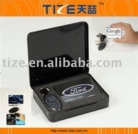 Free shipping, hot selling Remote control key finder with torch,Credit card shape key finder, TZ-K320