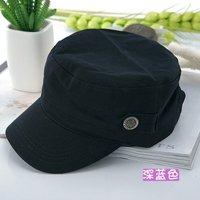 High Quality  flat-top  korean style women  leisure Military Cap Hat multi-colors custom flat caps for men army superme hat