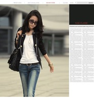 [YSL28318] Women fashion short style, wholesale jacket suit for woman coat suit