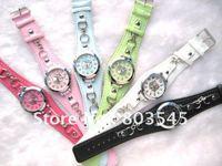 10PCS/Lot Hello kitty watch fashion watch Children's watch 6 colors Women's Watch ladies watch Hellokitty wrist watch