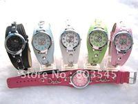 50PCS/Lot EMS Free Hello kitty watch  fashion watch Children watch 6 colors Women Watch ladies watch Quartz watch wrist watch