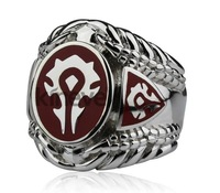 Warcraft ring/tribal ring/world of warcraft peripheral accessories/man ring /